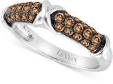 LeVian Le Vian Chocolatier® Diamond Band (3/4 ct. t.w.) in 14k White Gold