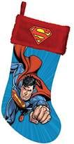 """Kurt Adler 19"""" Superman Printed Stocking"""