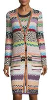 Missoni Long Sleeve Striped Cardigan