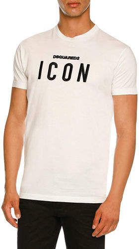 DSQUARED2 Icon Graphic Jersey T-Shirt