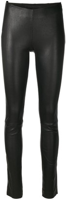Drome Skinny Leather Trousers