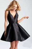 Jovani JVN53360 Strappy Back Cocktail Dress