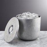 Crate & Barrel Glaze Ice Bucket