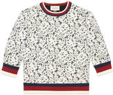 Gucci Jersey and lace top