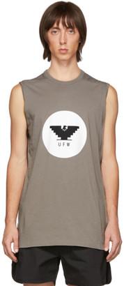 Rick Owens Grey Level Sleeveless T-Shirt