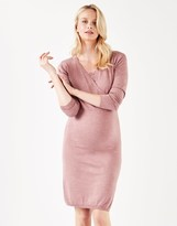 Mama Licious Mamalicious Knitted Maternity Midi Dress