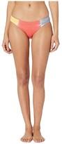 Soluna Swim SOLUNA SWIM Moonlight Rib Full Moon Swim Pant (Creamsicle) Women's Swimwear