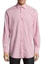 Saks Fifth Avenue Regular-Fit Gingham Cotton Sportshirt