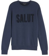 French Connection Men's Salut Crewneck Sweater