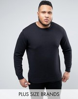 French Connection Plus Lightweight Crew Neck Jumper