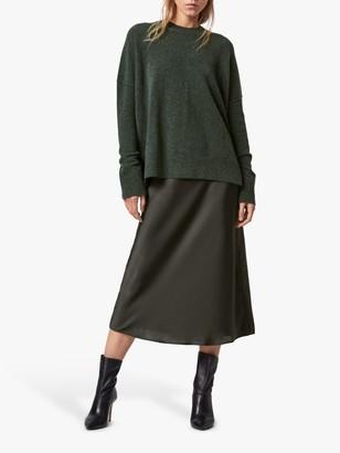 AllSaints Darla 2-in-1 Jumper Dress