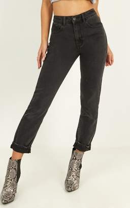 Showpo Remy Jeans in washed black denim - 6 (XS) Skinny Jeans