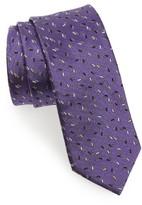 Lanvin Men's Print Silk Skinny Tie