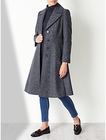 John Lewis Fit And Flare Coat