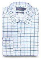 Osborne Blue Checked Print Shirt