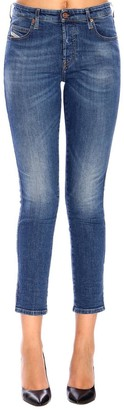 Diesel Babhila Regular Classic Stretch Jeans With 5 Pockets