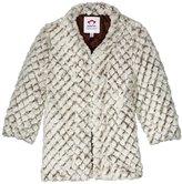 Appaman Faux Fur Long Coat (Toddler/Kid) - Diamond Fur - 5