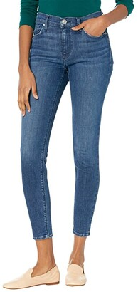 Hudson Nico Mid-Rise Super Skinny in Abby (Abby) Women's Jeans
