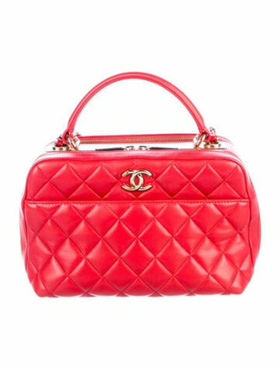 Chanel Small Trendy Bowling Bag gold