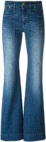 MICHAEL Michael Kors flared jeans - women - Cotton/Spandex/Elastane - 4
