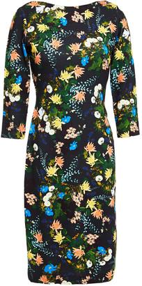 Erdem Reese Floral-print Ponte Dress