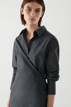 Cos Wrap Shirt Dress