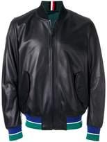 Tommy Hilfiger contrast trim bomber jacket