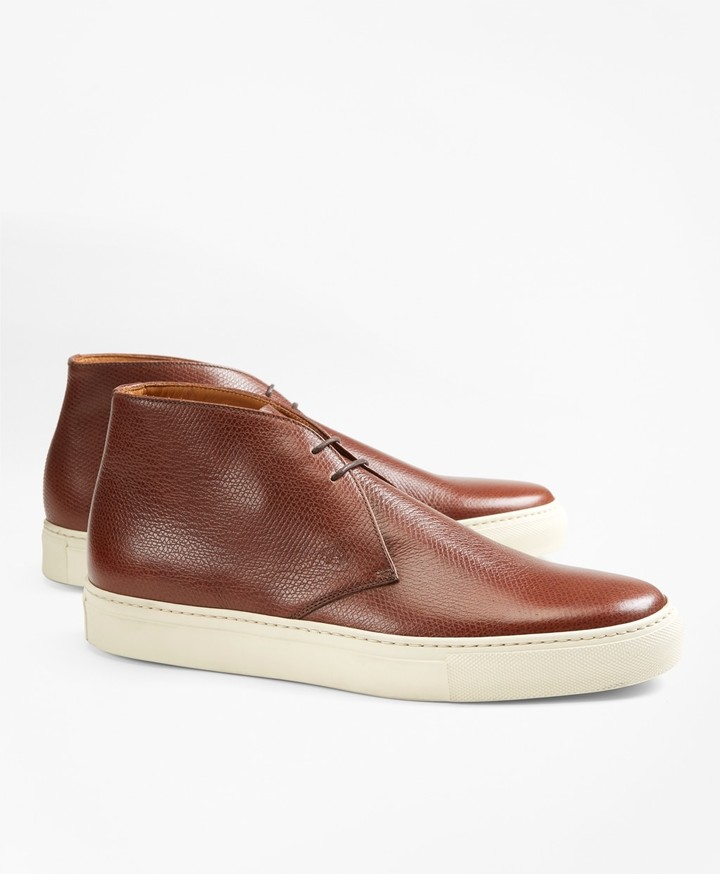 a733e71dab696 Brooks Brothers Brown Leather Men s Shoes
