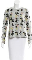 Suno Intarsia Crew Neck Sweater w/ Tags