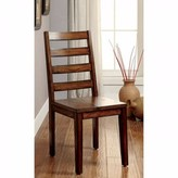 Levenson Contemporary Solid Wood Dining Chair Loon Peak