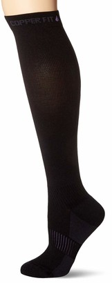 Copper Fit Easy On Easy Off Moisturizing Knee High Compression Socks Small/Medium