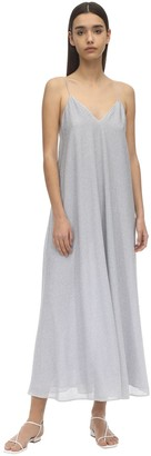 Oseree Lumiere Lurex Long Dress