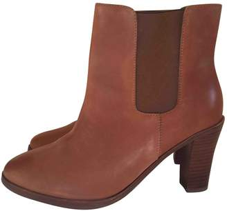 A.P.C. \N Brown Leather Ankle boots