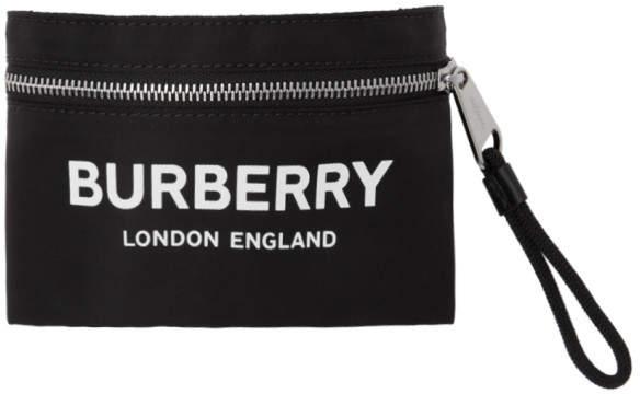 Burberry Black Nylon Arm Bag