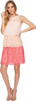 Taylor Dresses Women's Triple Tier lace Dress
