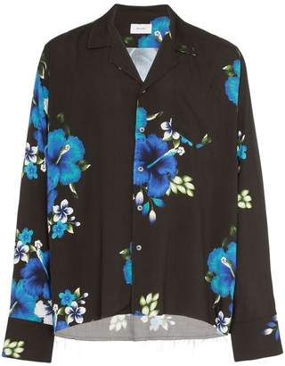 Rhude Hawaiian floral print shirt