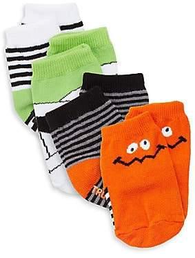 Trumpette Baby's Four-Piece Halloween Socks Set