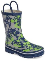 Western Chief Toddler Boy's Paintball Rain Boot