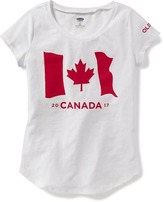 Old Navy Flag-Graphic Canada Tee for Girls