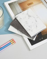 Mustard Marble Notebooks