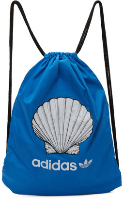 Noah NYC Blue adidas Originals Edition Shell Drawstring Backpack