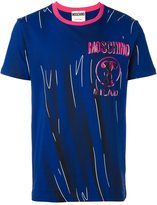 Moschino trompe-l'oeil logo T-shirt