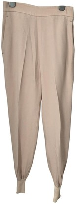 Stella McCartney Pink Cloth Trousers for Women