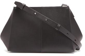 Aesther Ekme Origami Leather Shoulder Bag - Black