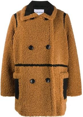 Stand Studio Chloe faux-shearling jacket