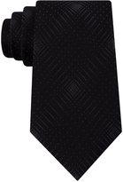 Sean John Men's Abstract Dot-Grid Tie