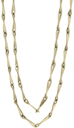 Ten Thousand Things 35 Inch Luxe Yellow Gold Chain Necklace