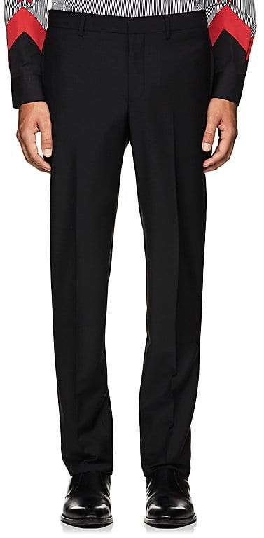 Givenchy Men's Wool-Mohair Slim Trousers