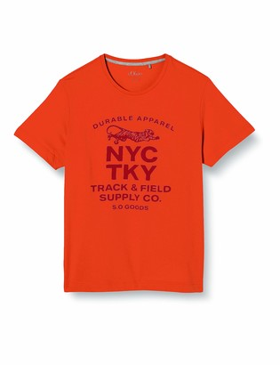 s.Oliver T-Shirt Kurzarm 2400 Light Orang