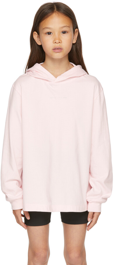 Thumbnail for your product : Alyx SSENSE Exclusive Kids Pink Chance Of Rain Hoodie